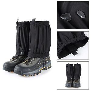 Waterproof Outdoor Climbing Hiking Snow Ski Leg Cover Boot Legging Gaiters CA