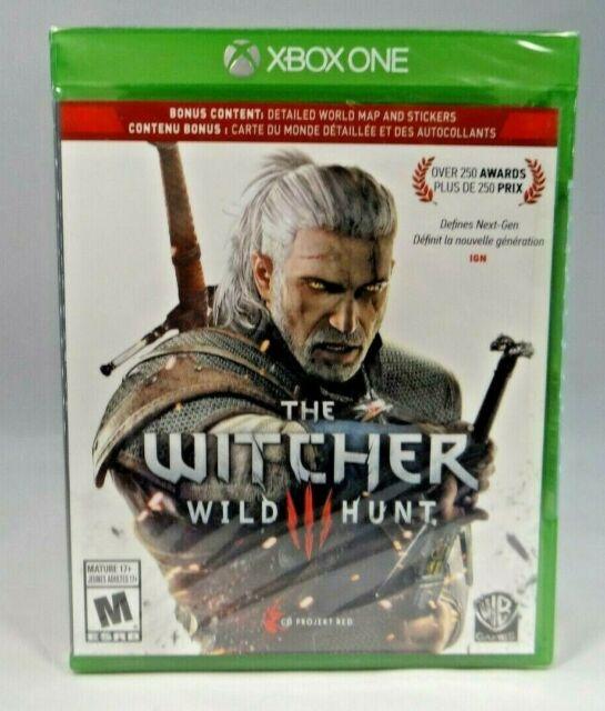 Hexer 3: Wild Hunt (Xbox One, 2015) Bonus Inhalt * NEU *