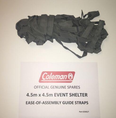 Coleman Event Shelter 15ft x 15ft Ground Straps Frame Tapes