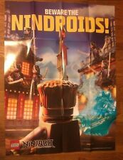 LEGO NINJAGO POSTER - NINDROIDS BEWARE - 2013 Toys R Us Exclusive Giveaway
