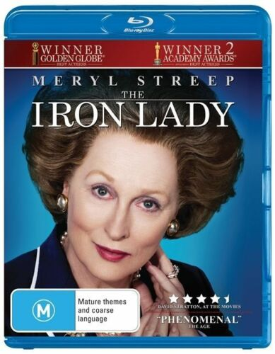 1 of 1 - - THE IRON LADY BLU RAY DVD (BRAND NEW SEALED) AUSSIE SELLER] REGIONS ABC