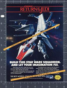 Star Wars RETURN OF THE JEDI__Original 1983 print AD / ADVERT__MPC model kits