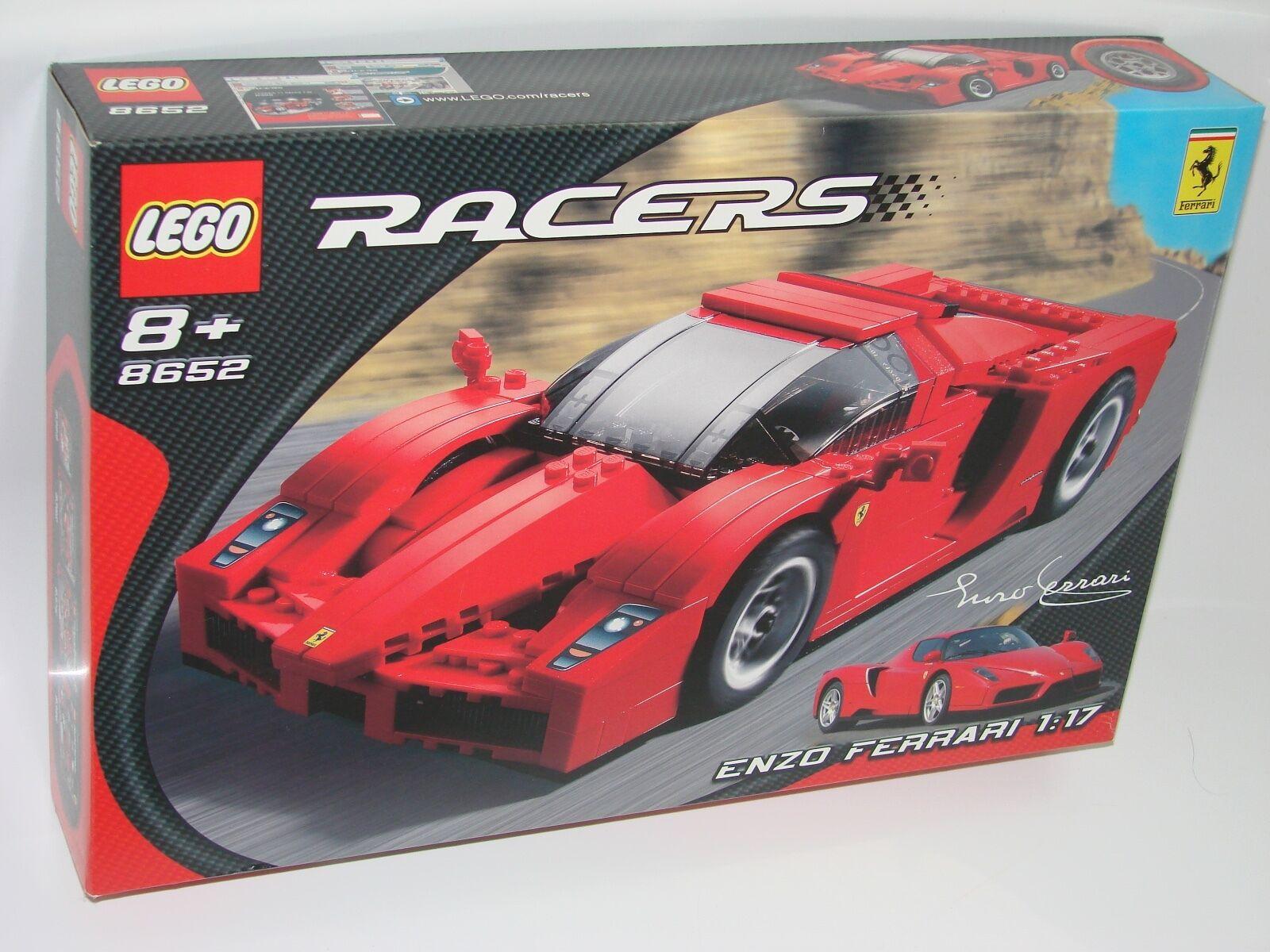 LEGO® LEGO® LEGO® Racers 8652 Enzo Ferrari 1 17 NEU OVP NEW MISB NRFB 27b8d6