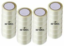 12 Rolls Carton Sealing Clear Packingshippingbox Tape 3 X 110 Yards