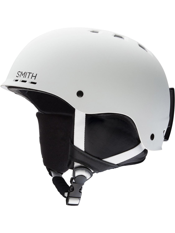 Smith Optic Mens Holt Helmet White Mens Helmet Ski Snowboard New Predection