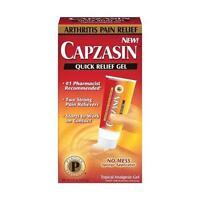 Capzasin Arthritis Pain Relief, Quick Relief Gel 1.5 Oz (42.5 G) Each on sale