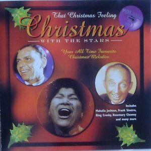 CHRISTMAS-WITH-THE-STARS-CD-VGC-Vol-3-1950-039-s-Sinatra-Crosby-Carols-Xmas-Feeling