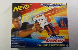 Hasbro-Nerf-Super-Soaker-Thunderstorm-With-Water-Clip-In-Box