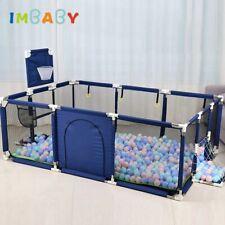 Corralito de piscina de bolas secas para niños, Valla plegable para bebés