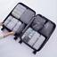 4,5,6,7,8 Pezzi Organizer Set Valigia Borse Di Stoccaggio imballaggio cubo di viaggio