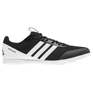 Adidas-DistanceStar-MEN-039-S-CHIODATE-Nero-Bianco-Uk-11