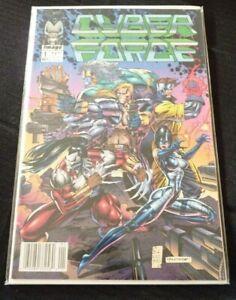 Soft-Cover-Comic-Book-Cyber-Force-1-1992-Image-Comics-VF