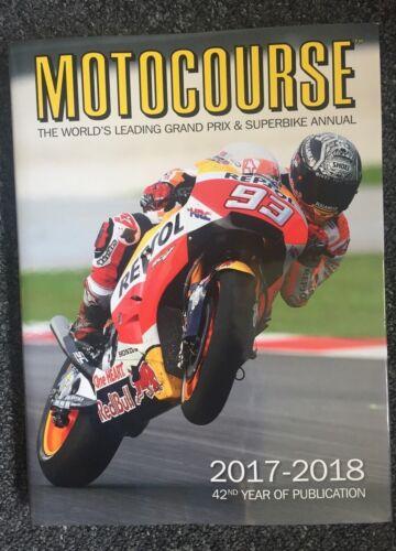 World/'s Leading Grand Prix /& Superbike Annual RRP £45 MOTOCOURSE 2017//18 ANNUAL