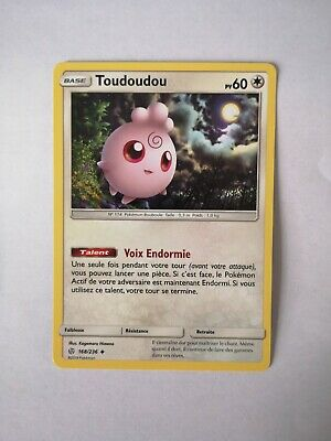 Pokemon card toudoudou 168//236 reverse sun and moon 12 sl12 fr new