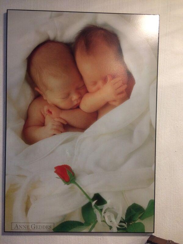 Anne Geddes Block mount poster Babies