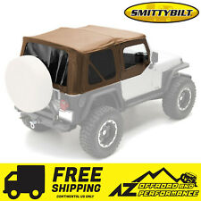 Smittybilt Soft Top With Half Door Skins For 1987 1995 Jeep Wrangler Yj Fits 1994 Jeep Wrangler