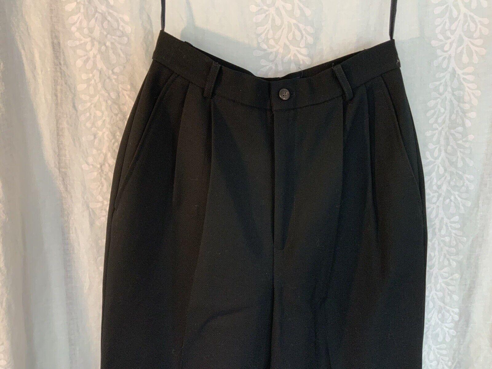 Vintage Ralph Lauren pants black 80s 90s - image 4