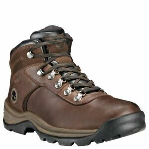 c1a827d53b7 Details about Timberland Men's Flume Mid Waterproof Boots Dark Brown  TB018128242
