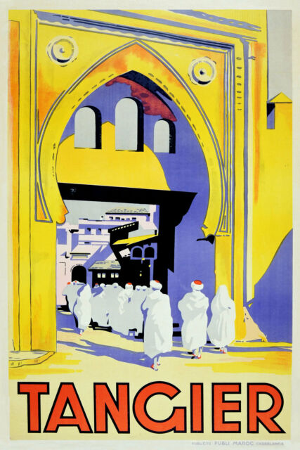 Tangeri Poster Kunstdruck Henri Matisse 30x24cm #41279
