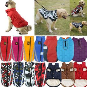 Small-Medium-Large-Dog-Coats-Jacket-Waterproof-Pet-Winter-Warm-Vest-Costume
