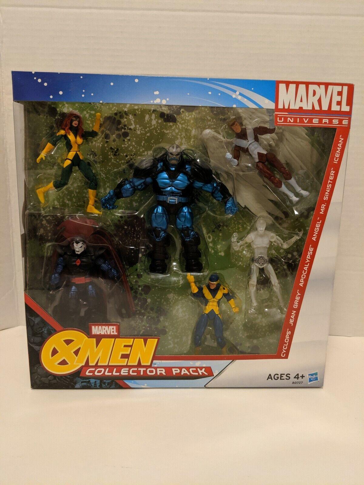 "Marvel Universe X-Men 6 Figure Collector Pack Box Set 3.75""  Hasbro 2012 TRU"