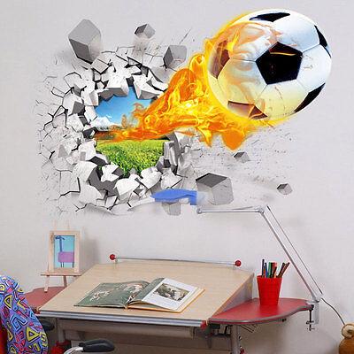 70×50cm 3D kids room decor Wall sticker boy gift wall decals Nursery Mural PVC