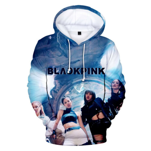 Blackpink Sweat à capuche 2019 KPOP NEW Lisa jisoo Pull Cap sweaster Rose Jennie Hot