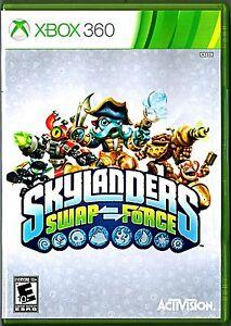 * Microsoft Xbox 360 Activision Skylanders Swap Force                         👾