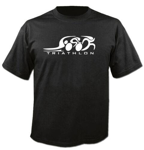 T-Shirt con Cappuccio Maglione Felpa Triathlon SPORT RUNNING Iron Man ciclismo swimin