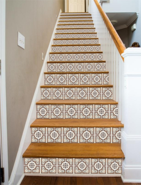 3D Marble design 7 Stair Risers Decoration Photo Mural Vinyl Decal Wallpaper UK