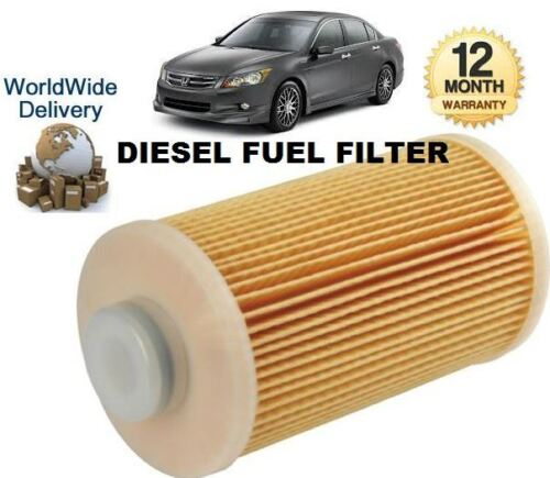/& GT NUOVO Carburante Diesel Filtro Per HONDA ACCORD 2.2 DT i-DTEC 6//2008