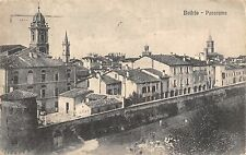 2401) BUDRIO BOLOGNA PANORAMA VIAGGIATA NEL 1921.