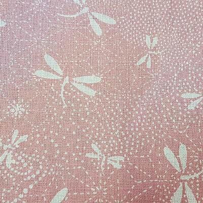 Baumwolle Libellen Digitaldruck hellgrün 150cm