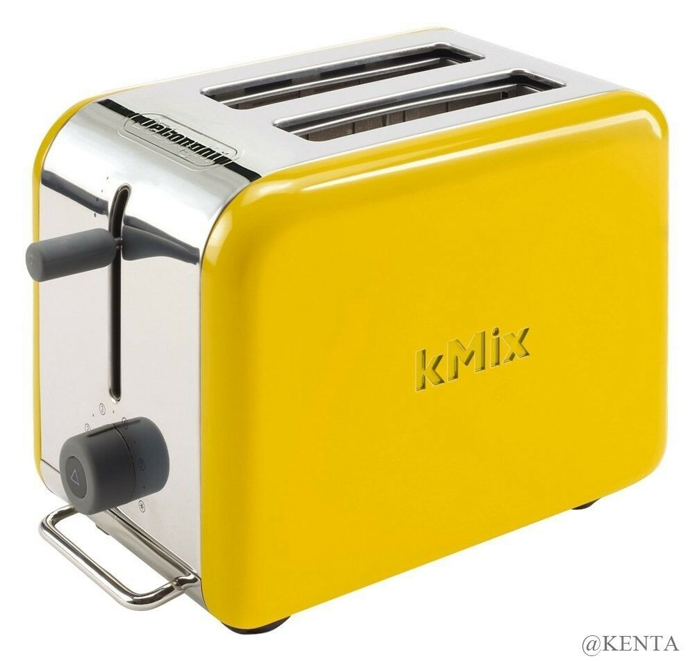 DeLonghi kMix TTM020J-YW Boutique Pop-Up Grille-Pain Jaune