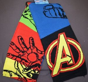 Avengers-Assemble-Scarf-Marvel-Comics-Licensed-64-034-Hulk-Thor