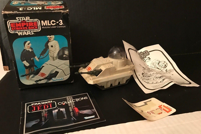 Rare 1980 Kenner Star Wars ESB MLC-3 Mobile Laser Cannon Original Box, Paperwork