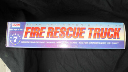 MINT IN BOX 1998 EXXON FIRE RESCUE TRUCK COLLECTORS EDITION BENICIA MIB NEW