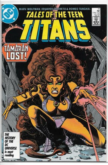 DC Comics The Tales Of The Teen Titans (1984 Series) # 77 NM