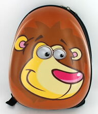 Hard Shell Lion Animal Kids School Backpack Childrens Rucksack Luggage Bag