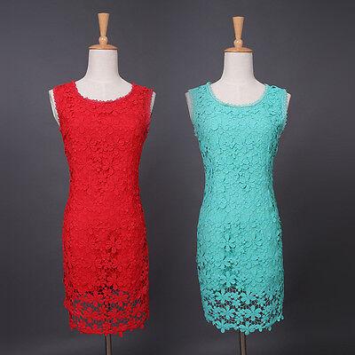 Fashion Women Dress Summer Slim Lace Evening Dress Sexy Party Dress MINI Dress