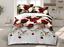 4-Pcs-3D-Design-Housse-De-Couette-complet-ensemble-de-literie-drap-et-2-taies-d-039-oreiller miniature 3