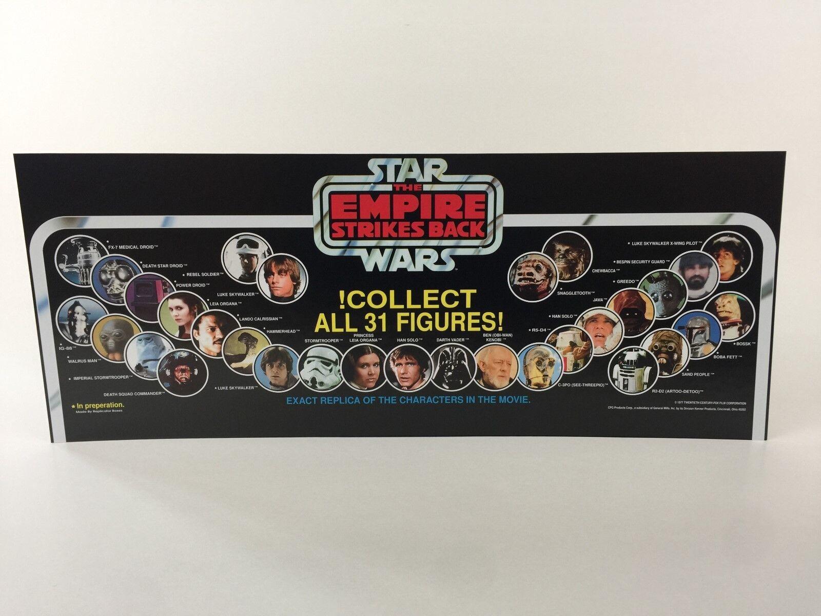 BN BN BN vintage star wars esb collect all 31 figures store shop display header 09bd88