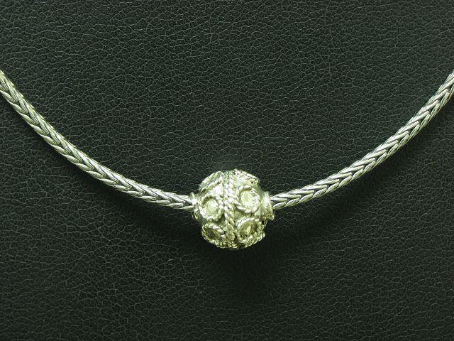925 Sterling silver Kette & Anhänger   8,6g   42,2cm