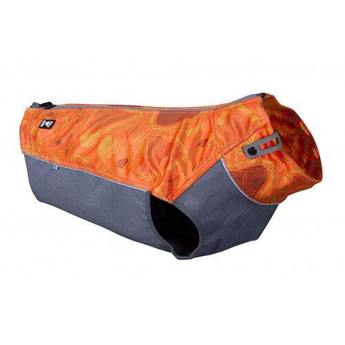 HURTTA WORKER VEST ARANCIO MIMETICO giacca elastica, robusta  ad alta visibilità