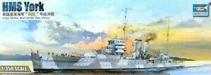 Trumpeter 1:350 HMS YORK Heavy Cruiser Model Kit
