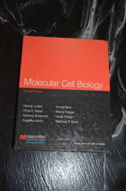 Molecular Cell Biology, Harvey Lodish, Arnold Berk, Chris…