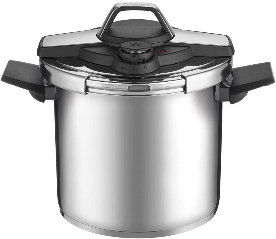 8 Qt. Pressure Cooker Superior Heat Distribution with Lid and Ergonomic Handle