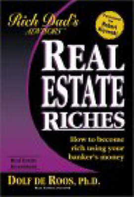 1 of 1 - Rich Dad's Advisors: Real Estate Riches by Dolf De Roos (Paperback, 2002)