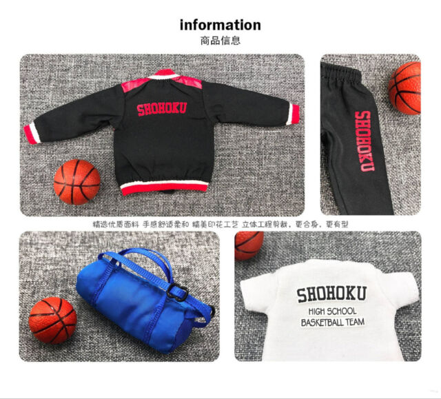 Dasin GT model winter clothing fitting for Slam Dunk Shohoku anime action figure