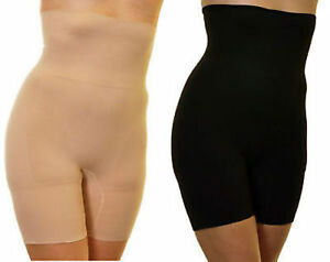 Women Firm Control High Waist Long Leg Tummy Bum Thigh Slimming Briefs Shapewear